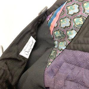 Vintage Jackets & Coats - Vintage Deanna Gauthier Multicolored Swing Vest